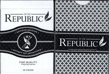 Republic No. 3 Artists Ed. Playing Cards Poker Size Deck Cartamundi ellusionist