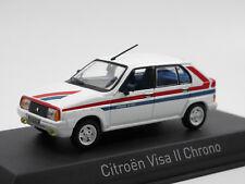Norev 150942 - 1982 Citroen Visa II Chrono - weiß mit Dekorstreifen - 1:43