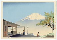 1940 Orig TOKURIKI TOMIKICHIRO Japanese Woodblock Print - Otome Pass in Autumn