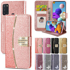 Case for Samsung Galaxy A12 A32 A42 A02s A21s Magnetic Leather Flip Wallet Cover