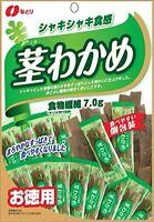 "Natori bar snacks Japanese ""Otsumami"" KUKI-WAKAME Sliced Seaweed stem"