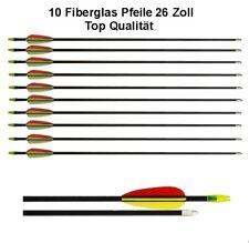 """EK Tiro Con L/'Arco Frecce in Fibra di Vetro 26/"""" confezione di 10"""