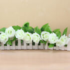 2.5 Meters Artifical Silk Rose Flower Ivy Vine fence Hanging Wedding Party Decor