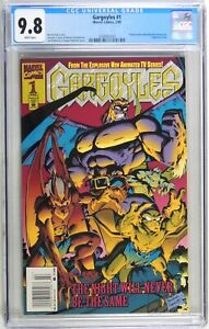 D349 Gargoyles #1 Marvel CGC 9.8 NM/MT (1995) 1st Comic App. of The Gargoyles