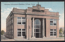 America Postcard - Chamber of Commerce Building, El Paso, Texas    DP426