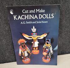 Kachina Dolls Cut and Make Paper Dolls Unpunched Unused Ag Smith, Josie Hazen