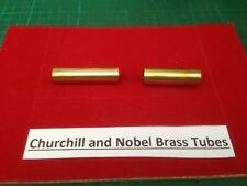 Replacement Brass Tubes for Churchill and Nobel Pen Kits