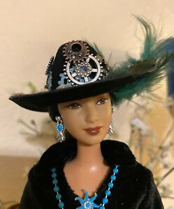 Handmade Jewelry & Accessories for Barbie Steampunk Cowgirl Hat