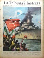 La Tribuna Illustrata 31 Ottobre 1954 Trieste Otero Alamein Lollobrigida Madonna