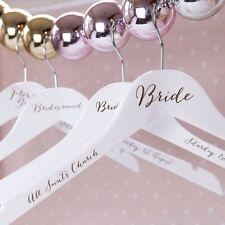 Personlised Wedding Coat Hanger Stickers/Decals, Pack of 6, Personlised