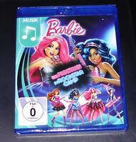 Barbie Uno Prinzessin en Rockstar Campamento Blu Ray más Rápido Envío Nuevo y