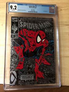 Spider-Man #1 (Aug 1990, Marvel) CGC 9.2 Silver Edition. Lizard appearance