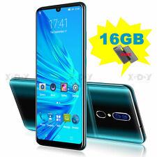 6,3 pulgadas 16G Smartphone Android 9.0 Teléfono Móvil Libre Dual SIM Quad Core