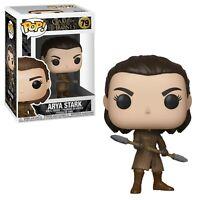 Pop! Funko Num 79 Game of Thrones GOT Vinyl Figure Arya w/Two Headed Spear