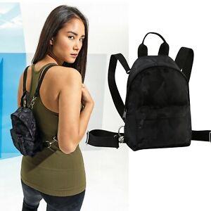 Camo Mini Backpack Rucksack Running Sports Fitness Gym Pouch Bag Handbag Unisex