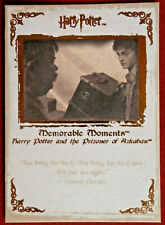 HARRY POTTER - MEMORABLE MOMENTS #1 - Card #37 - SHE DESERVED WHAT SHE GOT