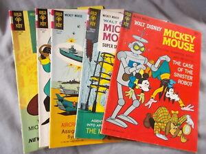 4-Mickey Mouse Gold Key Comics, 1-Phantom Blot, 1966-67