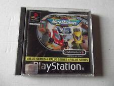 Micro Machines V3 - Sony PlayStation PS1 - PAL FR - Avec Notice