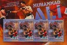 MUHAMMAD ALI (Fight vs. Floyd Patterson) Boxer Boxing Stamp Sheet (2012 Burundi)