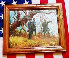 Civil War Painting. Manassas, Robert E Lee, Stonewall Jackson, Longstreet