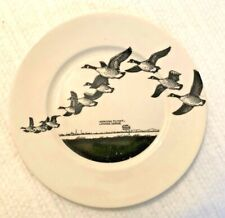 "Vintage Lynn Bogue Hunt ""Morning Flight-Canada Geese"" Decorator Plate"