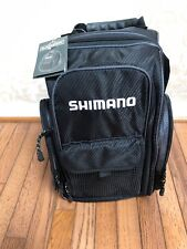 Shimano Blackmoon Black Backpack Tackle Bag Small New