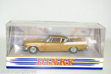 DINKY DY DY026/B 1958 STUDEBAKER GOLDEN HAWK WITH REAR LIGHTS MIB RARE SELTEN!
