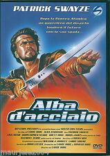 Alba d'acciaio (1987) DVD NUOVO SIGILLATO ORIGINALE Patrick Swayze Lisa Niemi