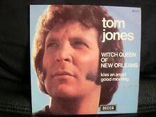 VINYL 45 T SOUL BLUES PSYCH – TOM JONES : WITCH QUEEN NEW ORLEANS + 1 – DECCA FR