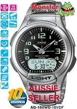 AUSSIE SELLER CASIO TELEMEMO WORLD TIME AQ180WD AQ-180WD-1B AQ-180 AQ180