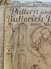 Antique 1919 Deltor Butterick Infant Baby Outfit Pattern 2851