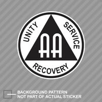 AA Alcoholics Anonymous Symbol Sticker Decal Vinyl