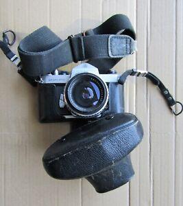 Pentax Asahi Spotmatic 35mm Camera & Case