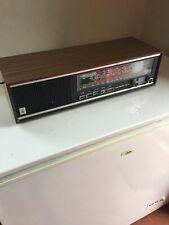 Vintage Retro GRUNDIG RF-412 GB LW MW VHF Transistor Shelf Radio | Wood Effect
