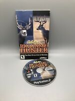 Cabelas Big Game Hunter PLAYSTATION 2 (PS2)    disk And Manual Only