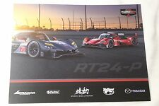 2017 IMSA Rolex 24 at Daytona MAZDA DPI Racing Hero Card