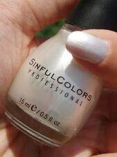 NEW! SINFUL COLORS Nail Polish Lacquer in TOKYO PEARL