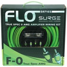 SURGE F-0 Surge Flo Series Amp Installation Kit (0 Gauge, 5,000 Watts)
