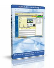 DIGeS Adressverwaltung 2 - Software Programm zum Verwalten von Adressen