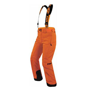 FXR™ Youth Squadron Orange / Black Insulated Snowmobile Pants - 170500-3000-XX