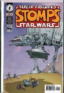 SERGIO ARAGONES STOMPS STAR WARS #1 Dark Horse (2000) VF+/VF/NM (8.5/9.0)