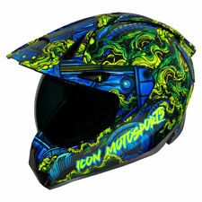 Icon Variant Pro Willy Pete Full Face Motorcycle Motorbike Helmet