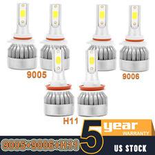 3Pair 9005+9006+H11 Car Combo LED Headlight Kit 4065W 630000LM Hi/Low Beam Bulbs