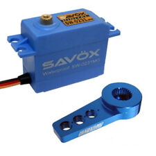 Savox SW-0231MG Waterproof High Torque STD Digital Servo W/FREE ALUMINUM HORN BL