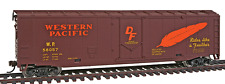 Walthers Trainline WP Western Pacific Boxcar #56057 - HO Scale