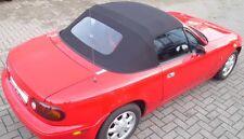 Mazda MX5 Verdeckbezug NA mit fester heizbarer Glasscheibe incl Regenrinne