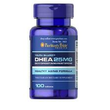 DHEA 25mg. 100cps. Puritans