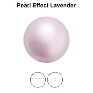 Genuine PRECIOSA 131 10 011 Round MAXIMA Nacre Pearls Full Drilled * Many Colors