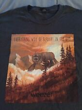 Weezer Shirt Xl New Ewbaite White Blue Pinkerton Rivers Cuomo Cruise Raditude