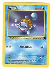 Pokemon Team Rocket Squirtle Common 68/82 - NearMint